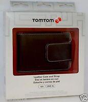 Genuine Tomtom Via Gps Leather Carry Case Black 1405tm 1435t 1435tm 1400t