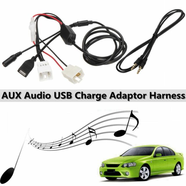 iPod MP3 AUX in Audio Cable Adapter For Ford Falcon Territory BA BF SX SY AU