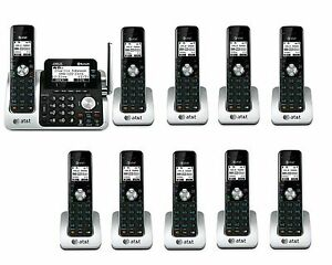 at t tl96271 dect6 0 cordless bluetooth to cell phone 10 handset rh ebay com at&t tl96271 user manual