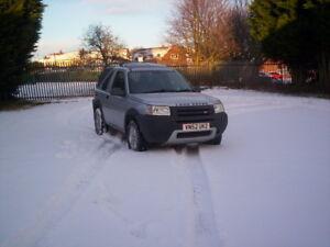 2002-52-Reg-Land-Rover-Freelander-ES-1-8-K-series-Project-Cheap-4x4