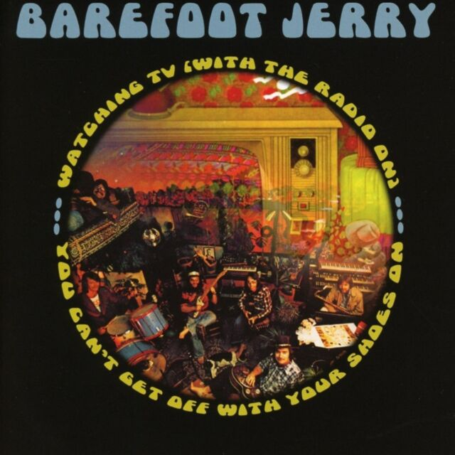 Barefoot Jerry - Watchin' TV / You Can't Get Off (2018)  CD  NEW  SPEEDYPOST