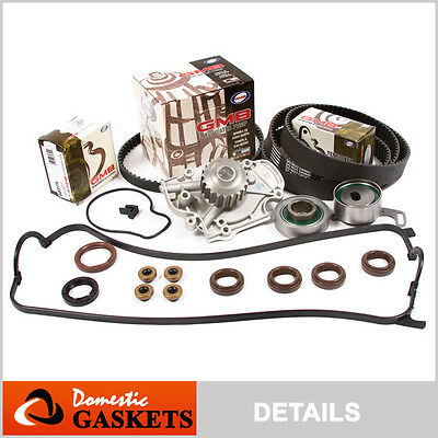 94-02 Honda Accord Acura CL 2.2 2.3 Timing Belt GMB Water Pump Valve Cover F23A1
