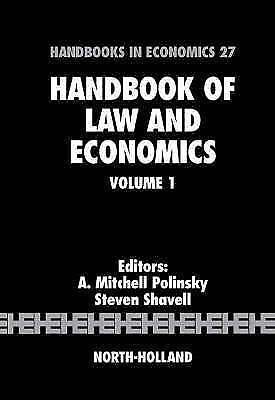 Handbook of Law and Economics by Polinsky, A. Mitchell -ExLibrary