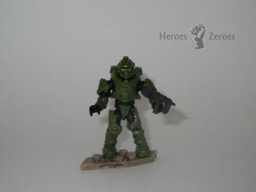 Halo Mega Construx Set #FDY45 UNSC Green Spartan Centurion with SMG