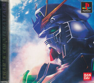Mobile-Suit-Gundam-Char-039-s-Counterattack-PS1-Playstation-1-Japan-Import-N-Mint