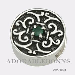 Authentic-Lori-Bonn-Bonn-Bons-Silver-May-I-Emerald-Slide-Charm-29904EM