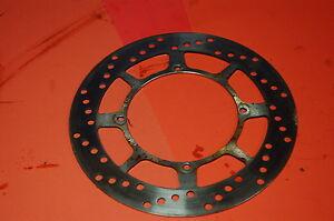 85 Yamaha Yz125 Oem Front Brake Disc Rotor 1985 250 YZ 490