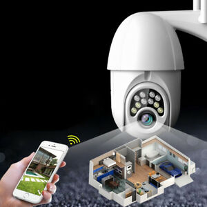 Wifi IP Caméra de Surveillance 1080P Sans fil Sécurité Cam Extérieur Vision Nuit