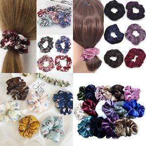4pcs-Velvet-Scrunchies-Velvet-Hair-Ring-Elastic-Stretch-Hair-tie-Ponytail-Holder