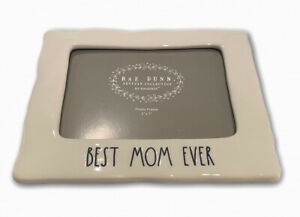 Rae-Dunn-Best-Mom-Ever-Picture-Frame-New-2019-HTF