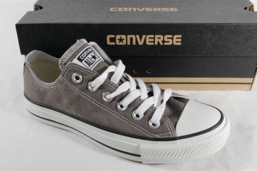 CONVERSE ALL STAR LACCI DA Scarpe Sneakers Grigio tessile / lino NUOVO