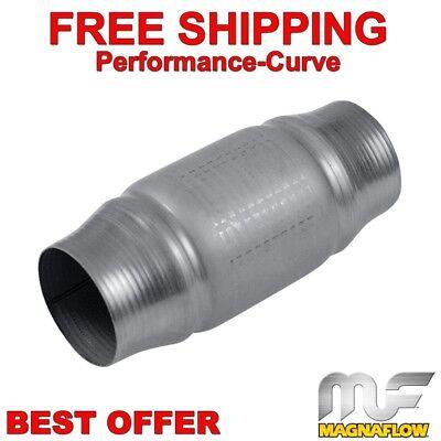 "Magnaflow 59955 High-Flo Catalytic Converter Spun Metallic 2.25/"" In//Out"