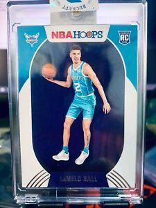 2020-2021 NBA Hoops Lamelo Ball RC #223 Charlotte Hornets