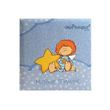 Fotoalbum Taufalbum Babyalbum Goldbuch Little Wingels Blau