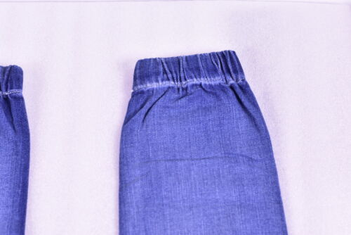 Blue 26 Women/'s Black Orchid Patch Pocket Elasticized ankle cuff Jogger Pants