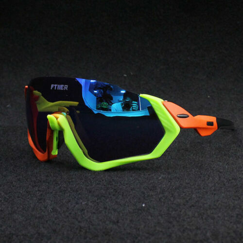 Details about  /FTIIER Polarized Cycling Glasses Bicycle Fishing Sports Running Sunglasses 3Lens
