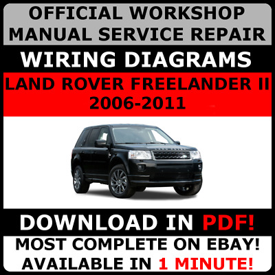 WORKSHOP MANUAL SERVICE & REPAIR GUIDE for LAND ROVER FREELANDER II  2006-2011 archives.statelegals.staradvertiser.com