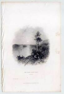 The lower Lough Erne - Fermanagh - IRLAND - IRELAND - Stahlstich 1840