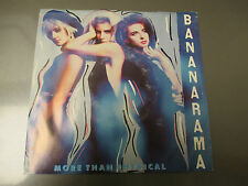 1986  BANANARAMA More Than Physical US 45 London 886 080-7 EX/VG+ Pic Sleeve
