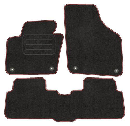 Velour Fußmatten Satz für Seat Alhambra II Premium Qualität VW Sharan II