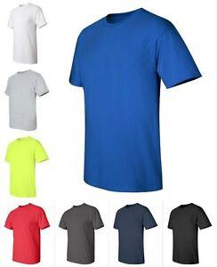 Gildan Ultra Cotton Tall T-Shirt,Navy,XLT