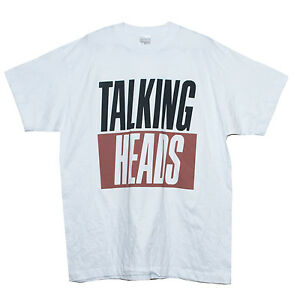 TALKING-HEADS-T-SHIRT-New-Wave-Art-Rock-Festival-Graphic-Band-Men-039-s-Women-039-s-Top