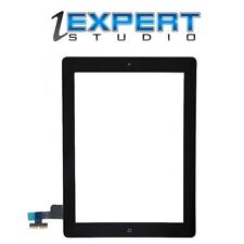NEW Black Assembly Digitizer Screen Replacement for iPad 2, Home Button Adhesive
