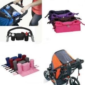 0d282504858b Image is loading Baby-Stroller-Bottle-Cup-Holder-Bag-Stroller-Accessories-