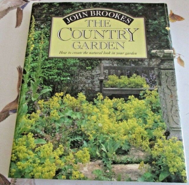 LIBRO IN LINGUA INGLESE - JOHN BROOKES THE COUNTRY GARDEN 1A EDIZIONE