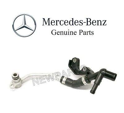 For 2012-2018 Mercedes CLS550 Turbocharger Coolant Line Left Genuine 38897PY