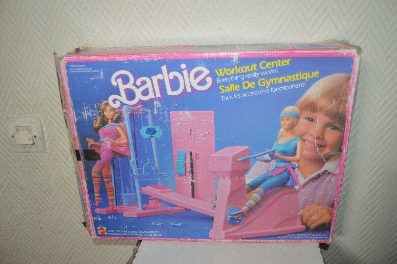 StuttiE DE  GYMNASTIQUE  POUPEE BARBIE MATTEL EN BOITE VINTAGE 1984 n° 7975 FITNESS  le migliori marche vendono a buon mercato