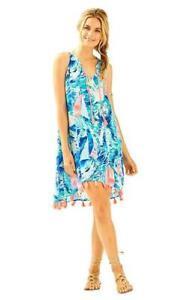 0e38abf5f74372 Lilly Pulitzer Roxi Dress, Hey Bay Bay, Sparkling Blue, Small, NWT ...