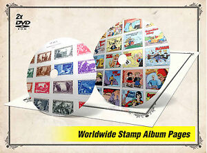 picture about Stamp Printable identified as Data over Final PRINTABLE International STAMP ALBUM Webpages DVDs (39.000+ PDF colour illustr. pgs)