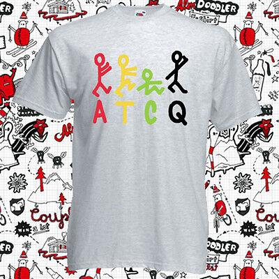 A Tribe Called Quest ATCQ Logo Rap Hip Hop Music Men/'s Grey T-Shirt Size S-3XL