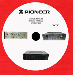 Pioneer Audio Video Service And Owner Manuals Dvd 1 Of 7 In Pdf Format Ebay
