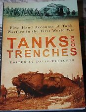 TANKS AND TRENCHES   D.FLETCHER  P/B  HISTORY PRESS