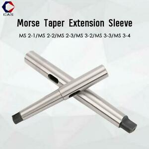 Morse Taper Drill Chuck Mounting Taper Sleeve Extension Adapter Socket Hole MT 2