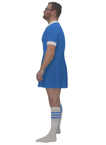 Mens Custom Printed Blue Rugby World Cup Dress Funny Stag Fancy Dress