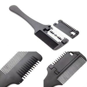 Professional-Hair-Thinning-Hair-Shaper-Razor-Comb-With-Blades-Hair-Cutter-Comb