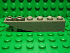 Lego NEW dark bluish gray 1 x 6 inverted slope bricks Lot of 5