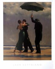 Jack Vettriano - Dancer in Emerald - Art Poster Large Print 80 x 60 cm