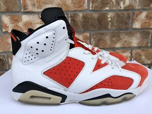 eba3befb71ffbc Men s Nike Air Jordan 6 VI Gatorade Like Mike Orange White Size 12 ...