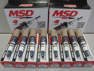 MSD IRIDIUM SPARK PLUG 1IR6Y MSD3714 HOLDEN CHEV LS1 LS2 5.7L 6.0L NGK BPR6EF-11