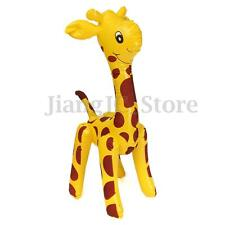 New Large Inflatable Giraffe Zoo Animal Blow Up Kids Toy For Pool Party  Decor