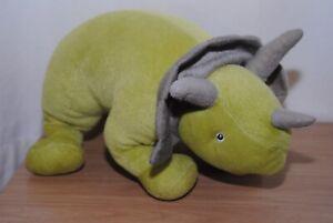 17 In (environ 43.18 Cm) Green Dinosaur Soft Plush Toy