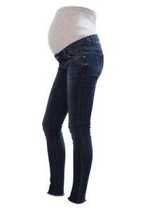 Mamalicious Jeans L32 Fit Slim Denim scuro Mlaugusta A4542 donna Blu W28 Zd6TWzdrfq