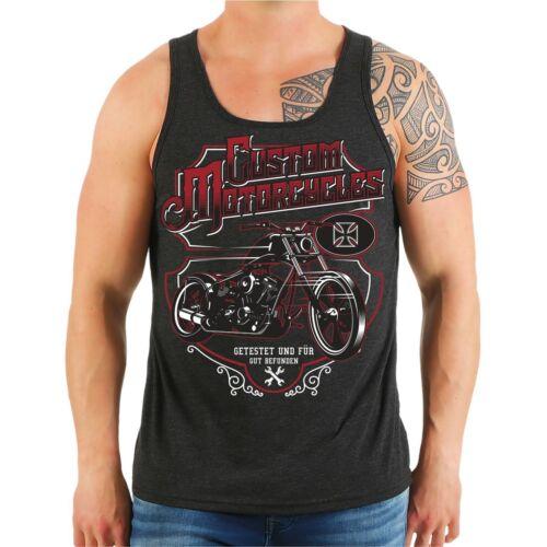 Portador de la axila músculo camiseta tanque custom motos biker diciendo Don MC