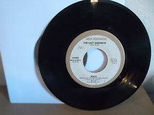 Details about POCO MCA 45 Record MCA-41023 Heart of the Night & The Last  Goodbye