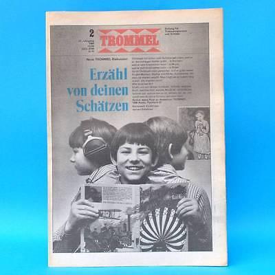 Trommel 2/1984 | Ddr-zeitschrift Pioniere | Syrien Sarajevo Kaufmann Nikaragua Belebende Durchblutung Und Schmerzen Stoppen