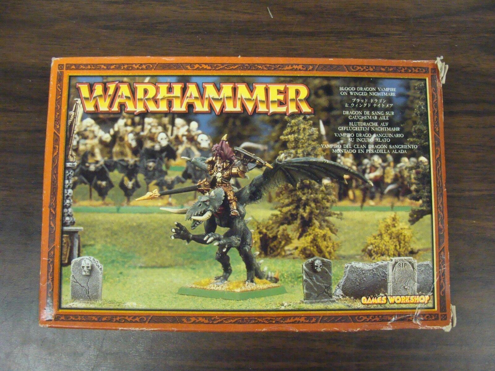 Bloddrake Vampyr på vingeed Nightmare Warhammer Metal